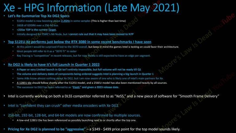 Intel Xe-HPG DG2-512EU