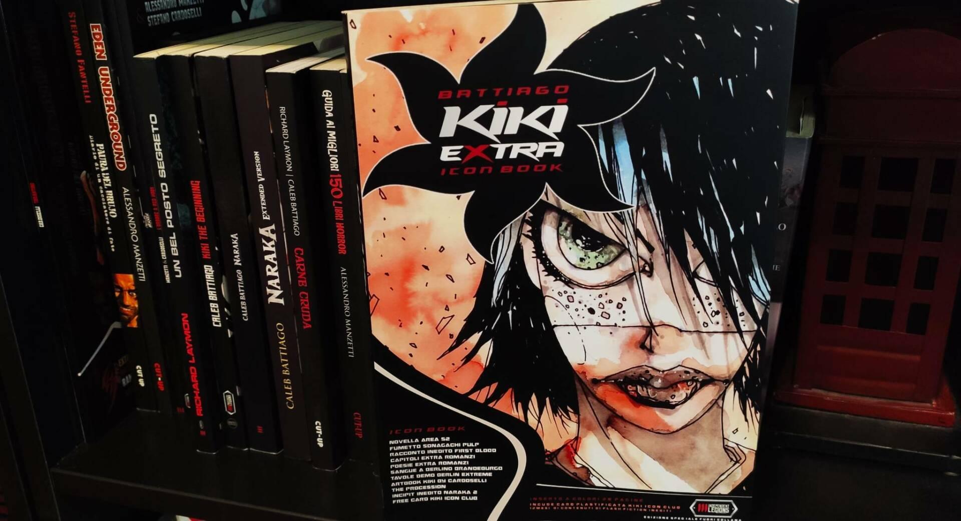 Kiki Extra Icon Book
