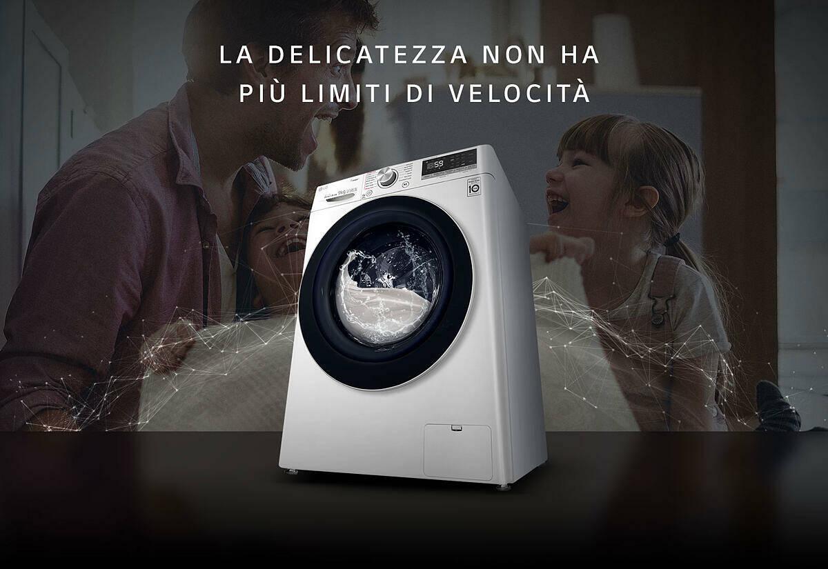 lavatrice LG F4WV508S0E