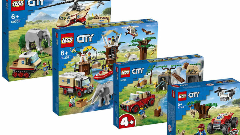 LEGO City Animal Rescue: in arrivo i set …