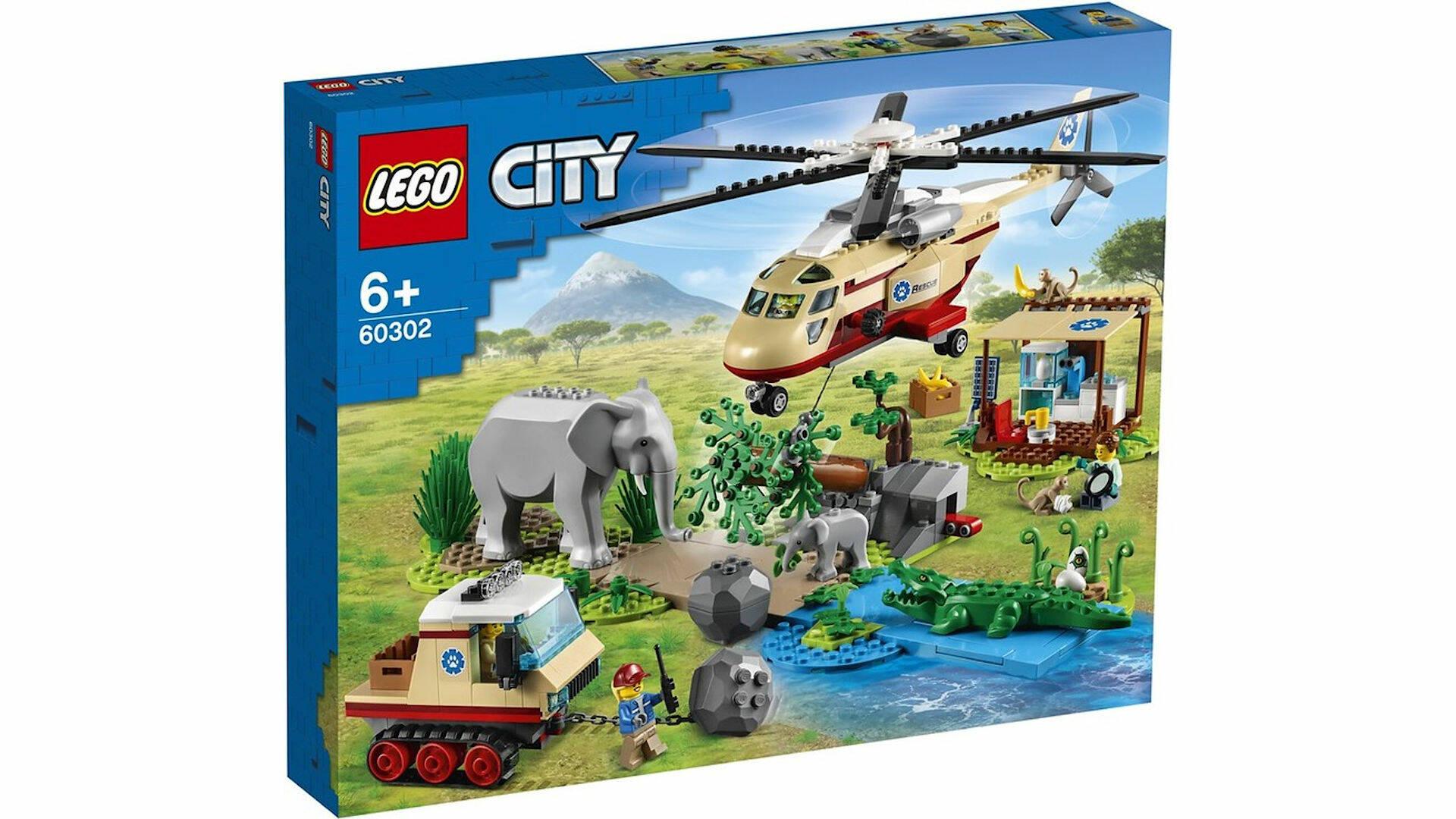 LEGO CITY ANIMAL RESCUE