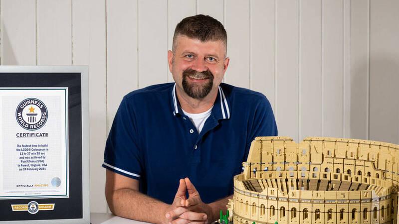 "LEGO ""Colosseum"": a Guinness World Record set (again)!"