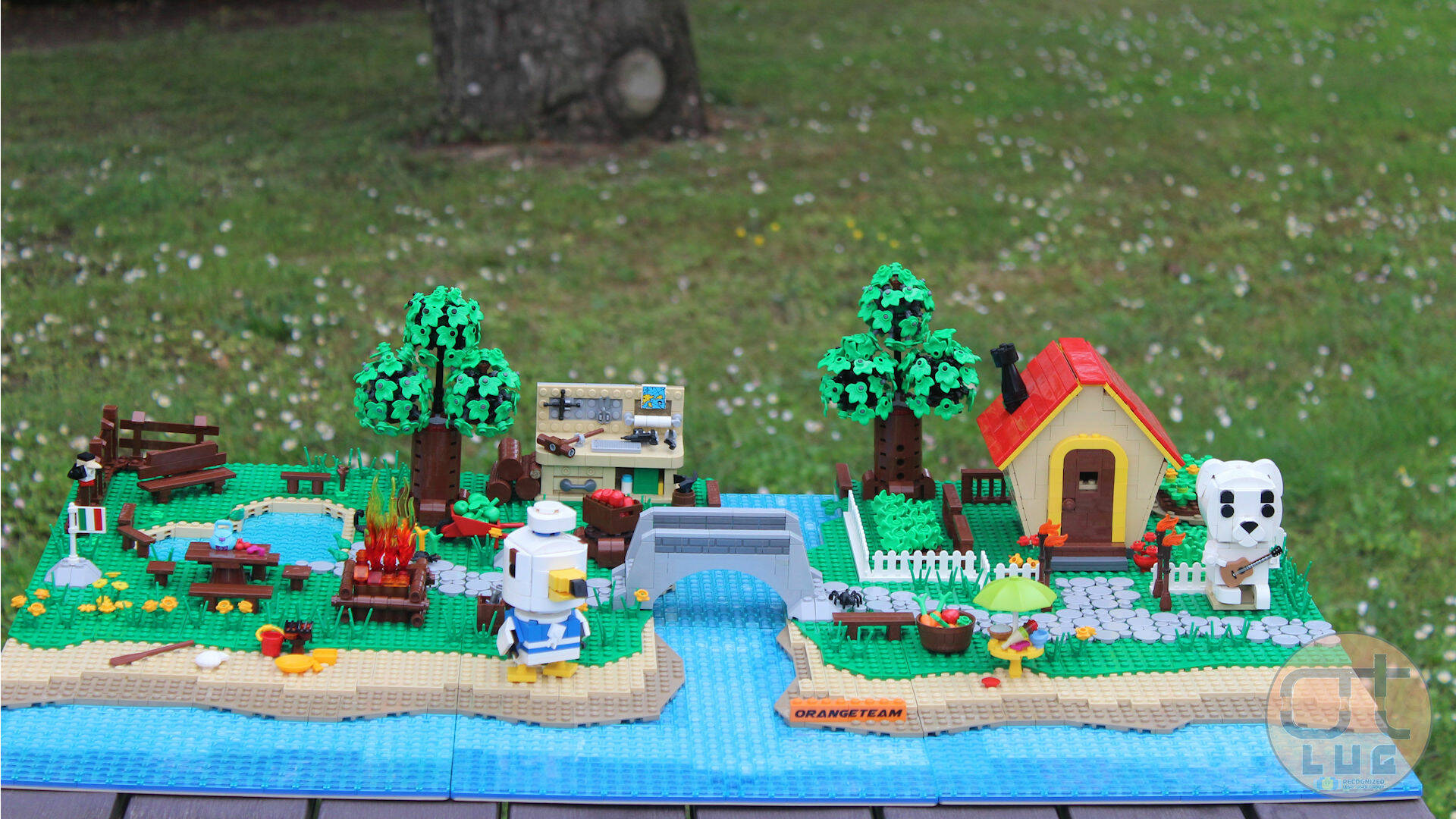 LEGO E ANIMAL CROSSING