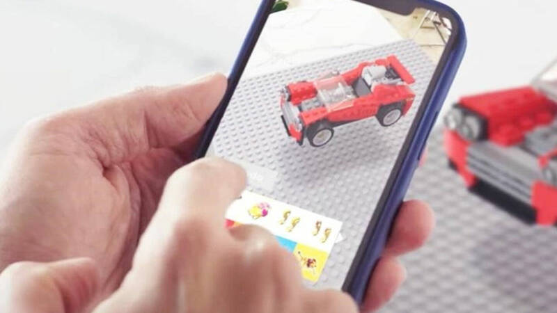 LEGO and Snapchat: a new collaboration in Augmented Reality