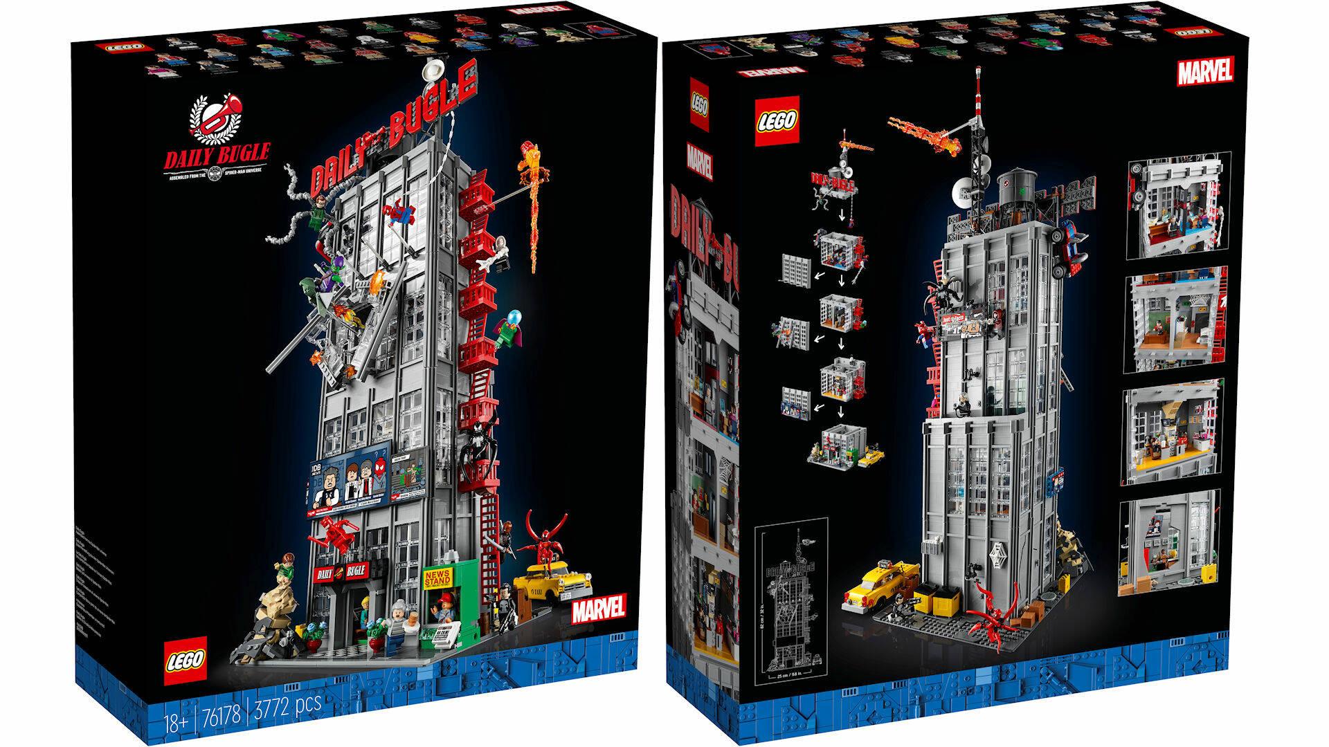 LEGO MARVEL #76178 DAILY BUGLE