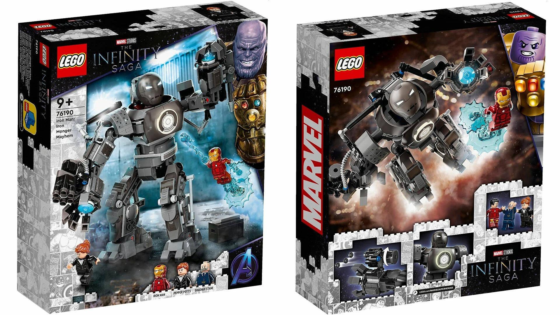 LEGO MARVEL INFINITY SAGA