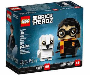 LEGO NUOVI BRICKHEADZ HARRY POTTER