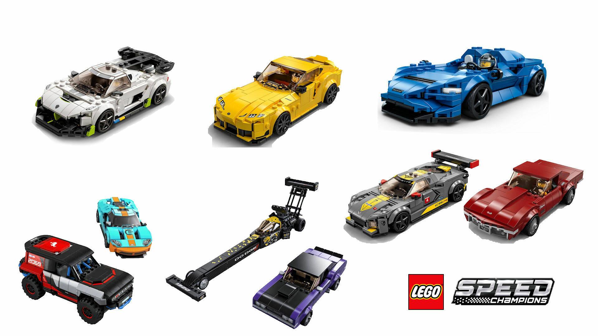 LEGO SPEED CHAMPIONS SUMMER 2021
