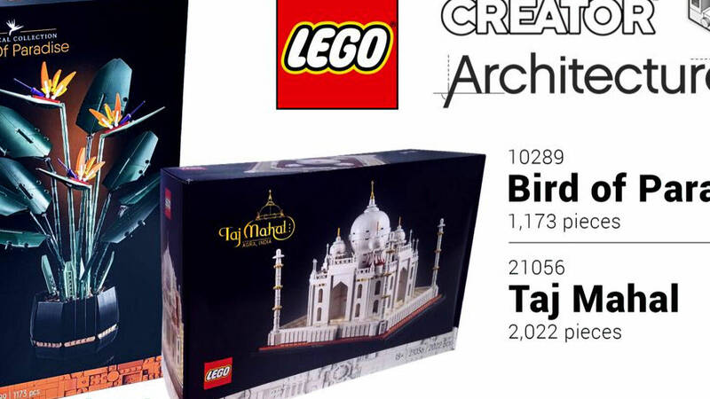 """LEGO: a new Architecture """"UCS"""" set and a new Botanical set are coming"""