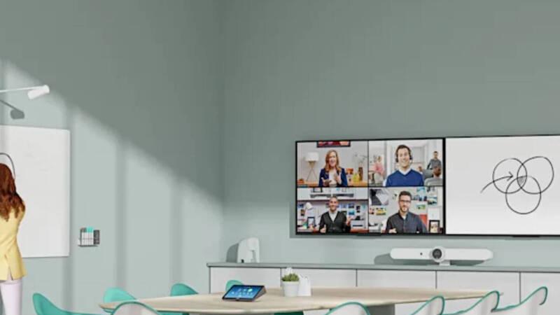 Logitech unveiled a webcam that makes you transparent
