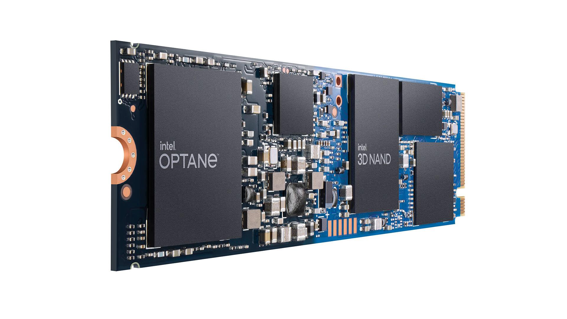 Memoria Intel Optane H20 con storage a stato solido