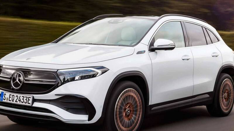 Mercedes EQA, even more powerful in the 4 × 4 versions