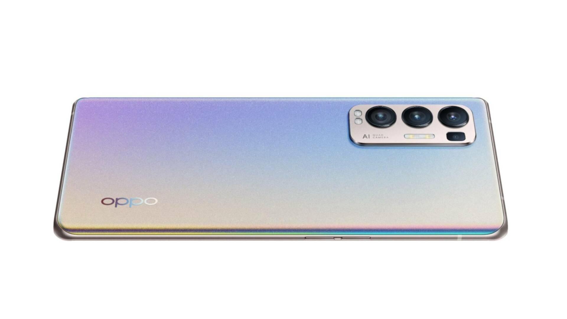 OPPO Find X3 Neo Glow