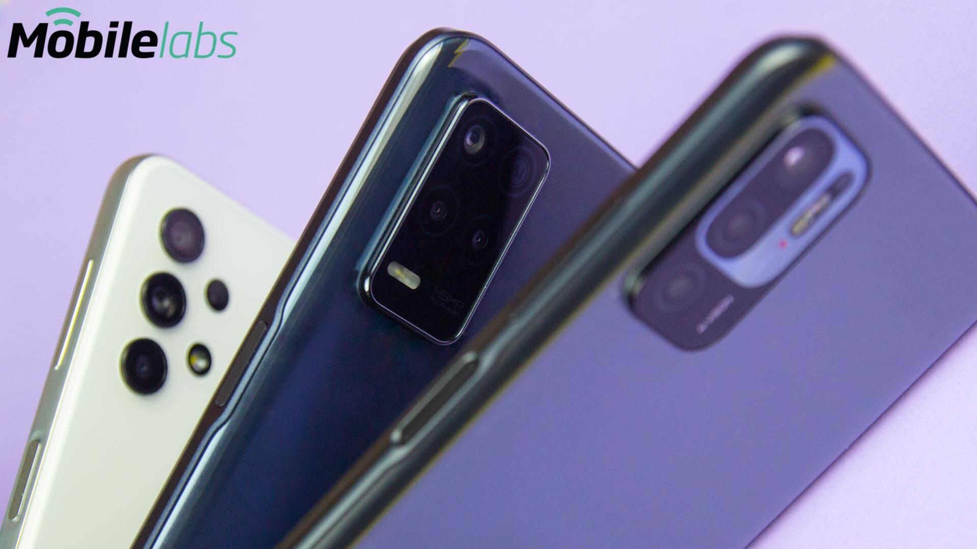 Redmi Note 10 5G vs realme 8 5G vs Samsung Galaxy A32 5G