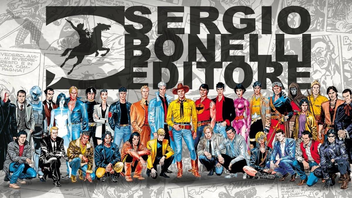 Sergio Bonelli Editore LOGO 1