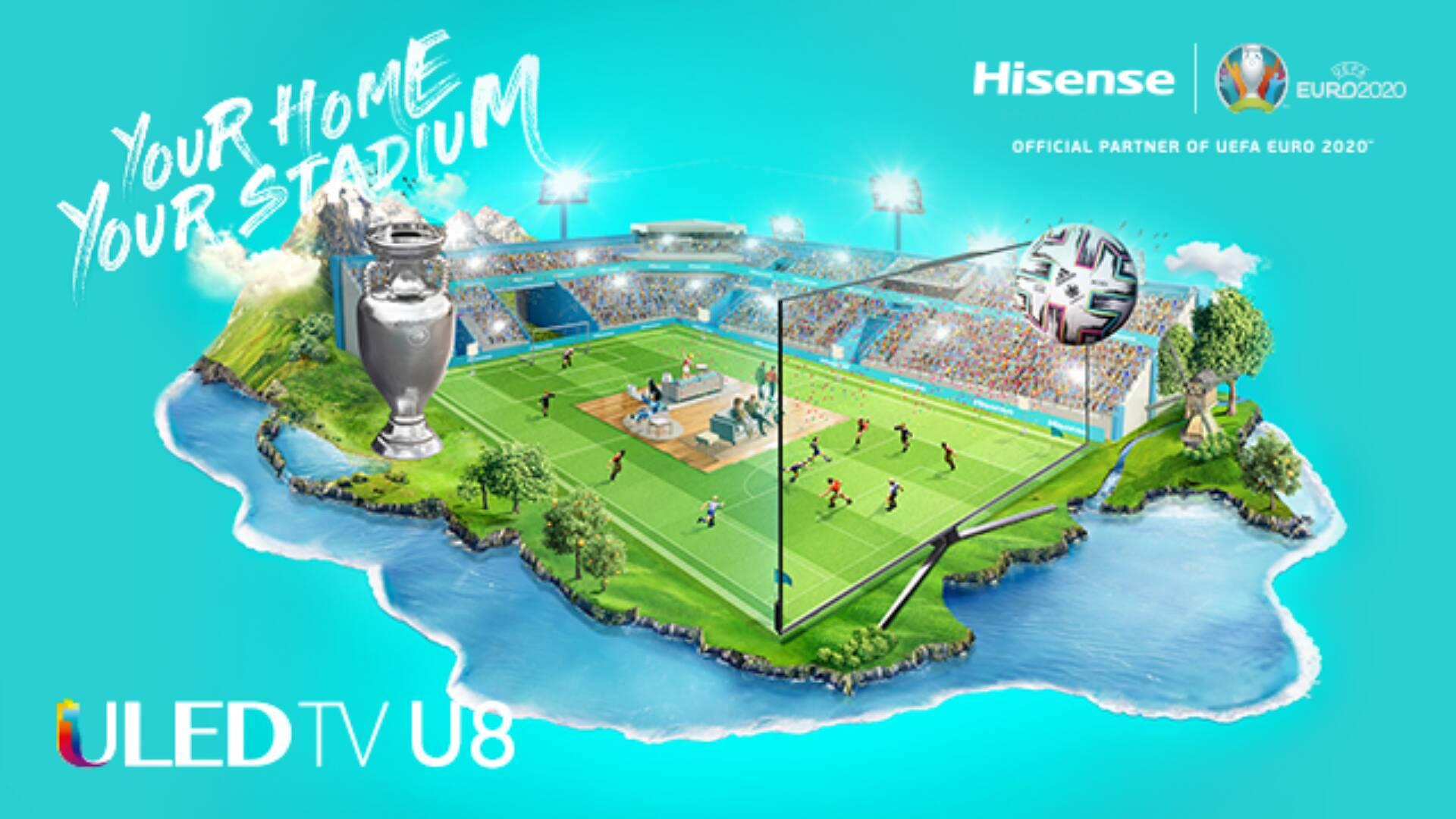Smart TV Hisense - Euro 2020