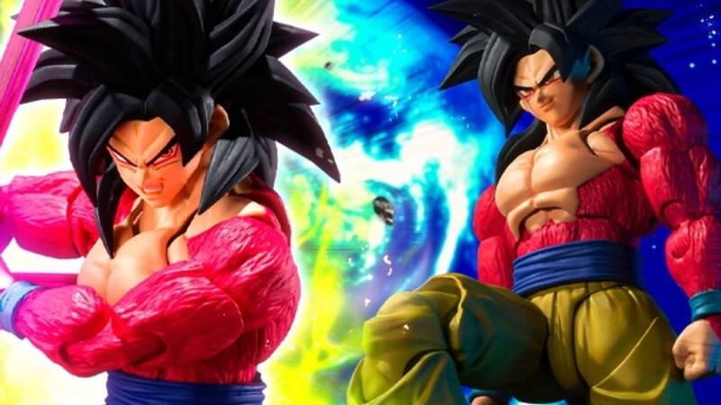 Goku Super Saiyan 4 S.H. Figuarts from Dragon Ball GT