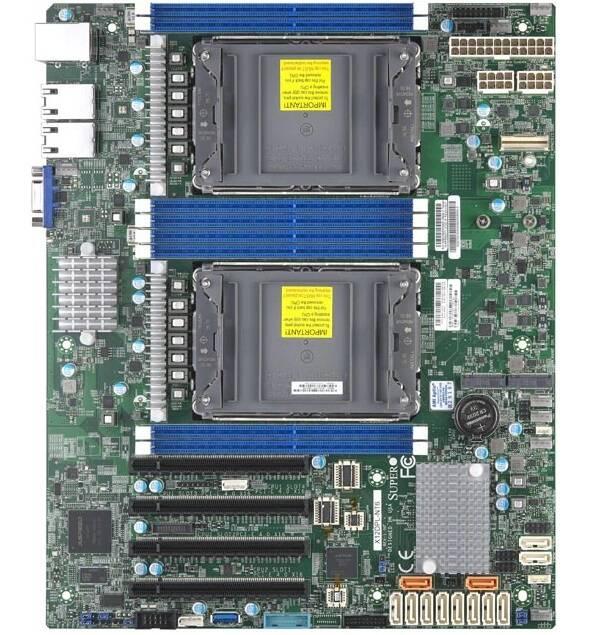 Supermicro schede madri ATX Intel Xeon Ice Lake