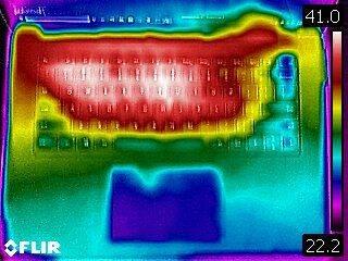 Surface Laptop 4 Heat