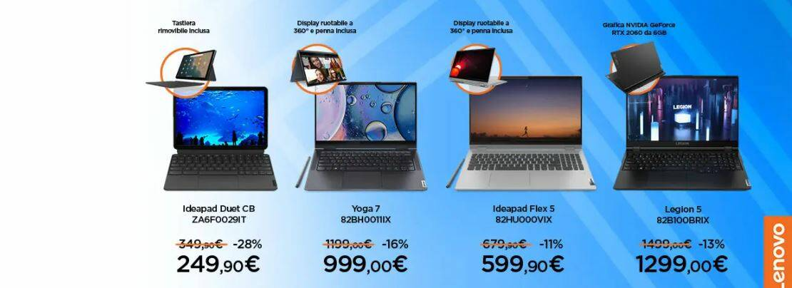 Unieuro Speciale Lenovo