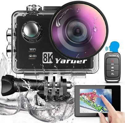 Yarber Action Cam 8K