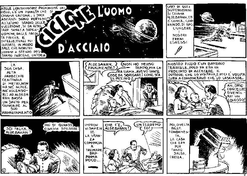2 luglio 1939: il debutto italiano di Superman