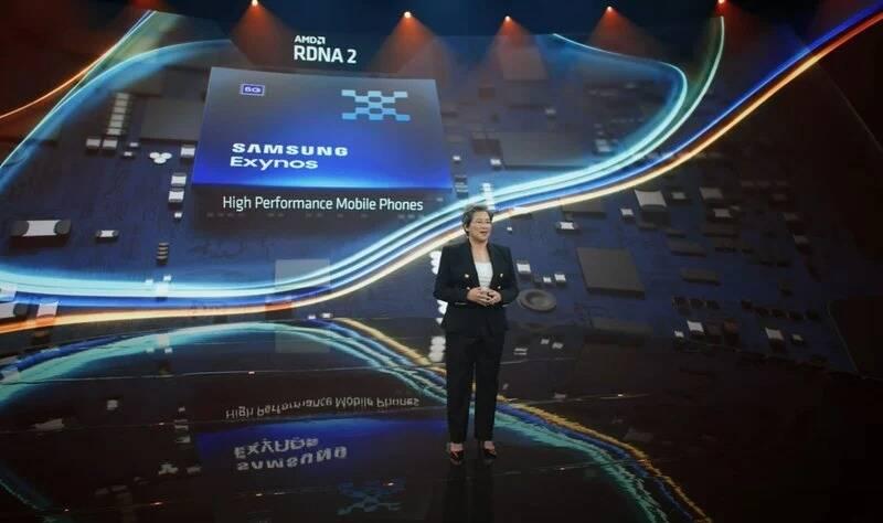 AMD GPU RDNA2 Exynos Samsung