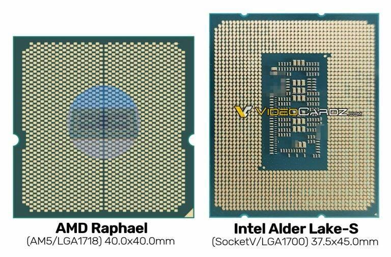 AMD Raphael AM5 vs Intel Alder Lake LGA1700