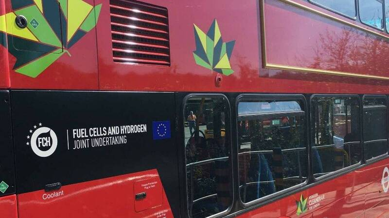 London debuts the first fleet of hydrogen buses