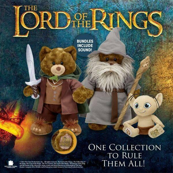 Build a Bear Il Signore degli Anelli