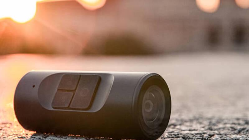 Cleep Pro, a wearable 4K camera