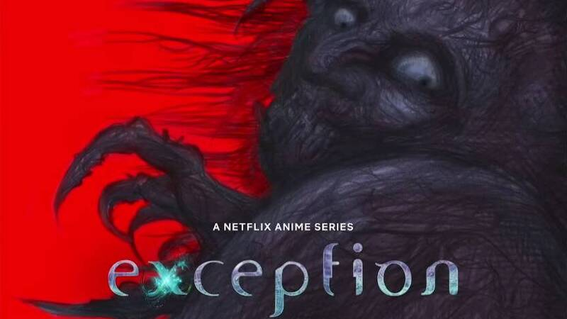 Exception, the horror and sci-fi anime by Hirotaka Adachi, arrives on Netflix