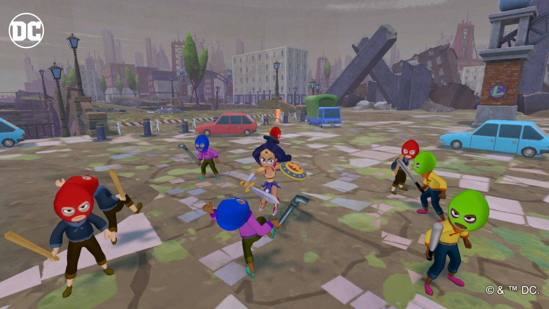 Dc Super Hero Girls Teen Power - Nintendo Switch