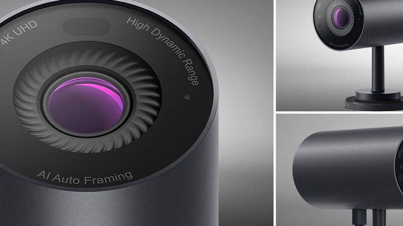 Dell UltraSharp, the new intelligent and secure 4K webcam