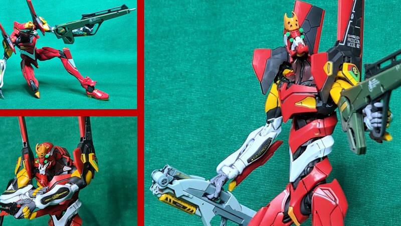 Bandai RG Evangelion Production Model-02 (Eva-02), the review