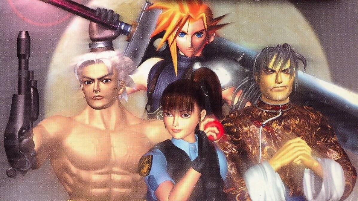 Final Fantasy VIII Ehrgeiz