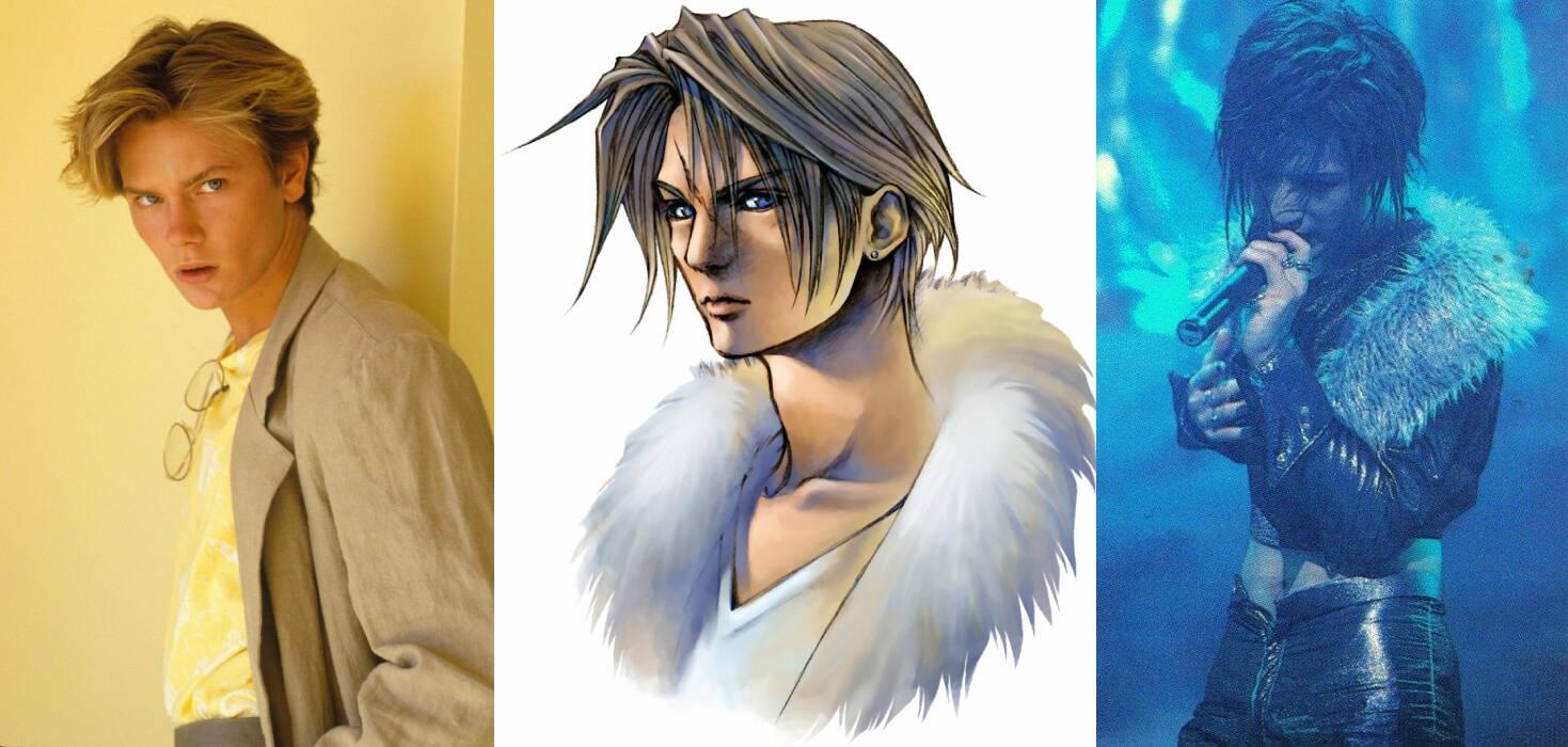 Final Fantasy VIII Squall char-des
