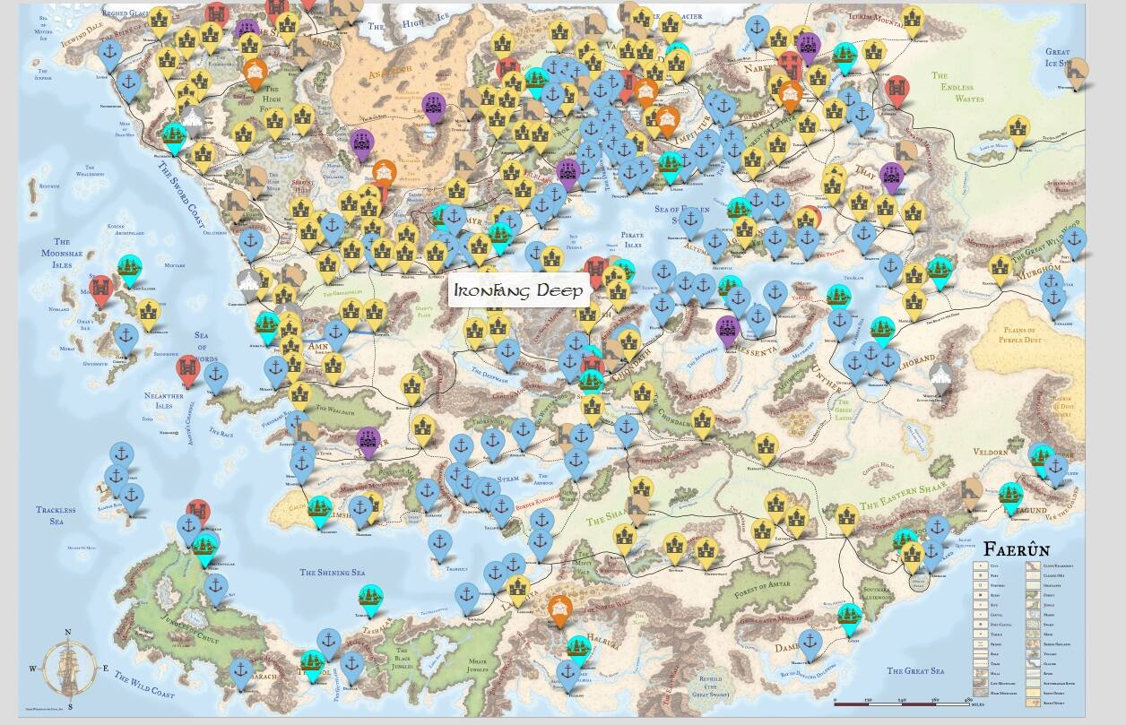 forgotten maps