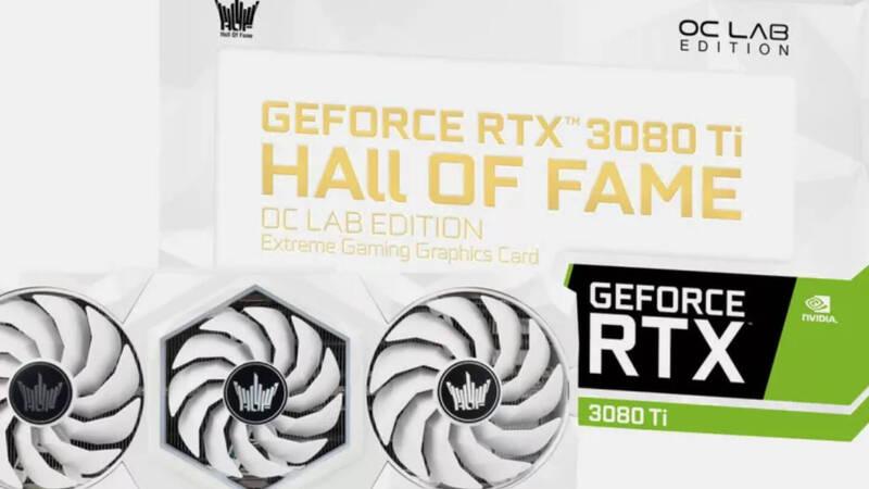 Galax, here is the splendid GeForce RTX 3080 Ti HOC OC Lab Edition