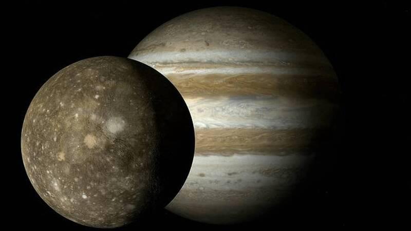 Water vapor discovered on Ganymede