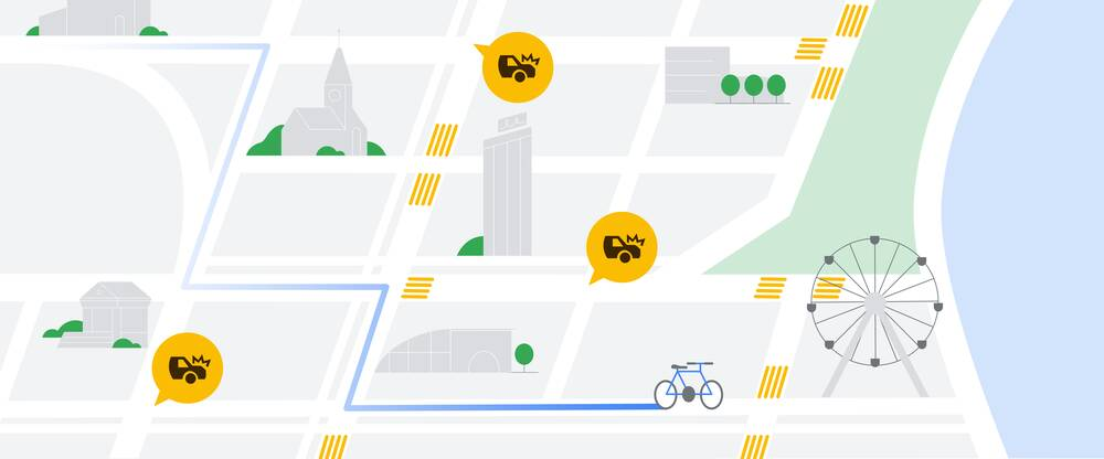 Google Maps evita tamponamenti