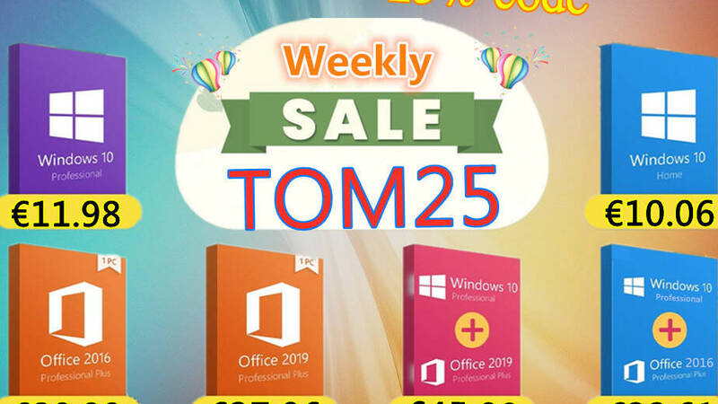 Windows 10 Pro OEM for less than 12 euros on GVGmall!