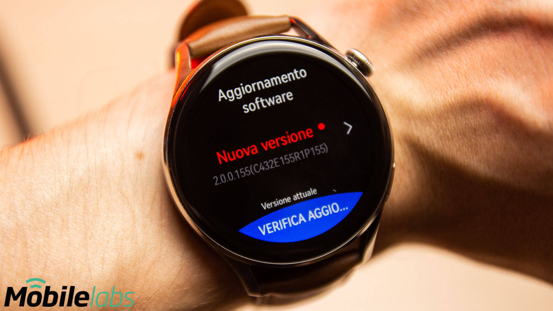 Huawei Watch 3 HarmonyOS Update
