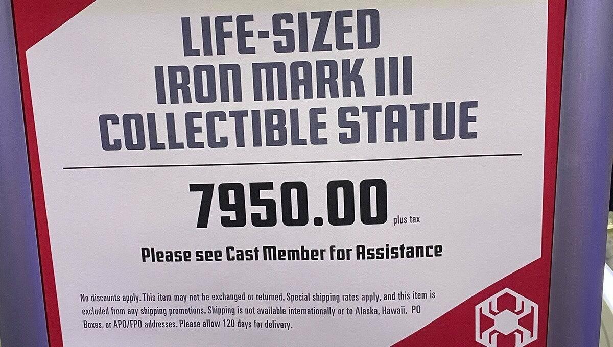 Iron Man in scala 1:1
