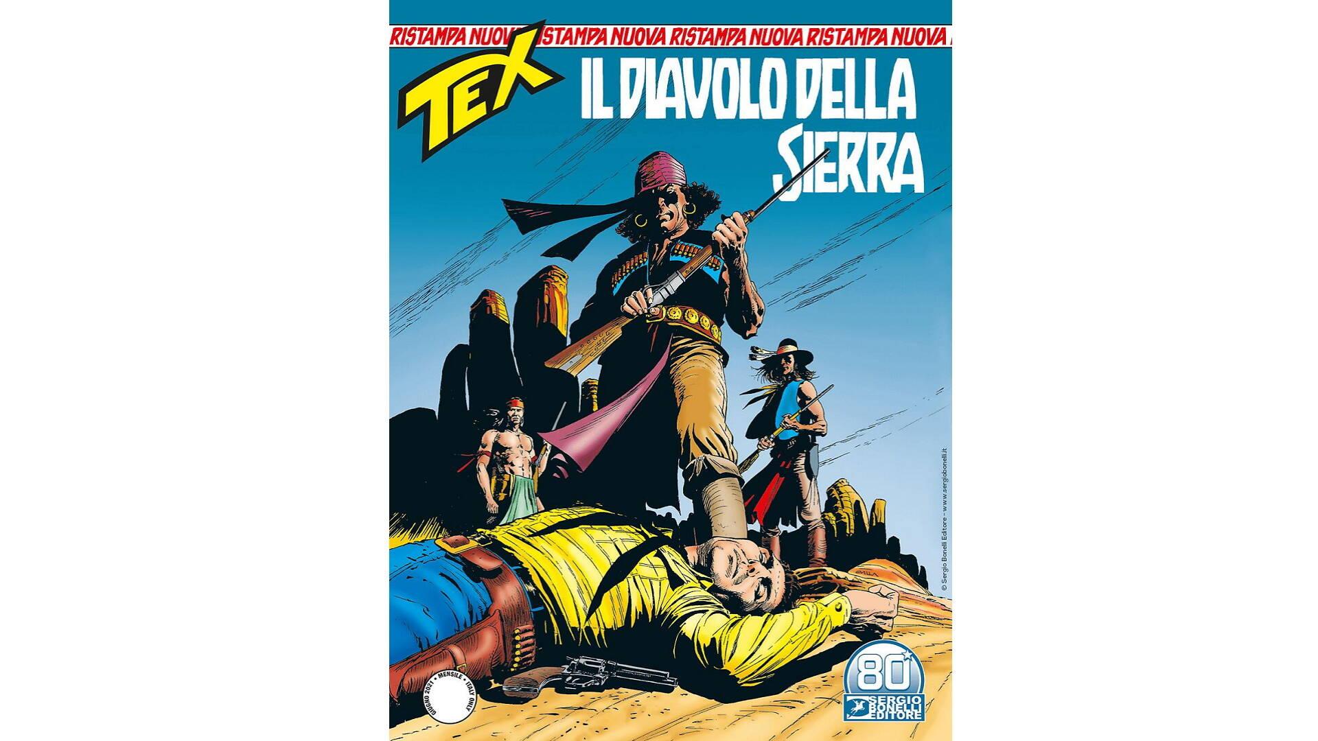 Le uscite Sergio Bonelli Editore 10 giugno/17 giugno 2021