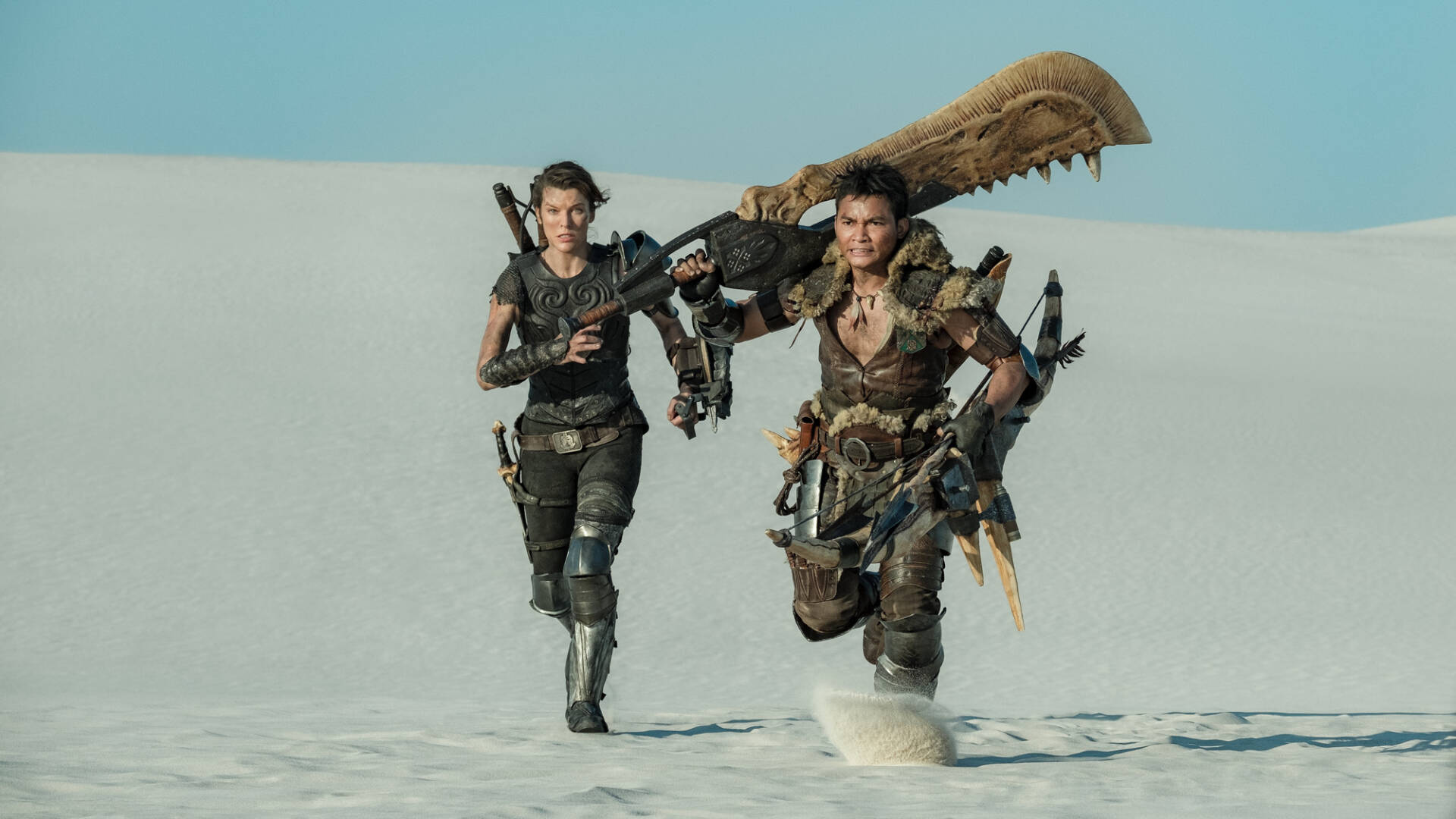 Monster Hunter, clip esclusiva del film con Milla Jovovich