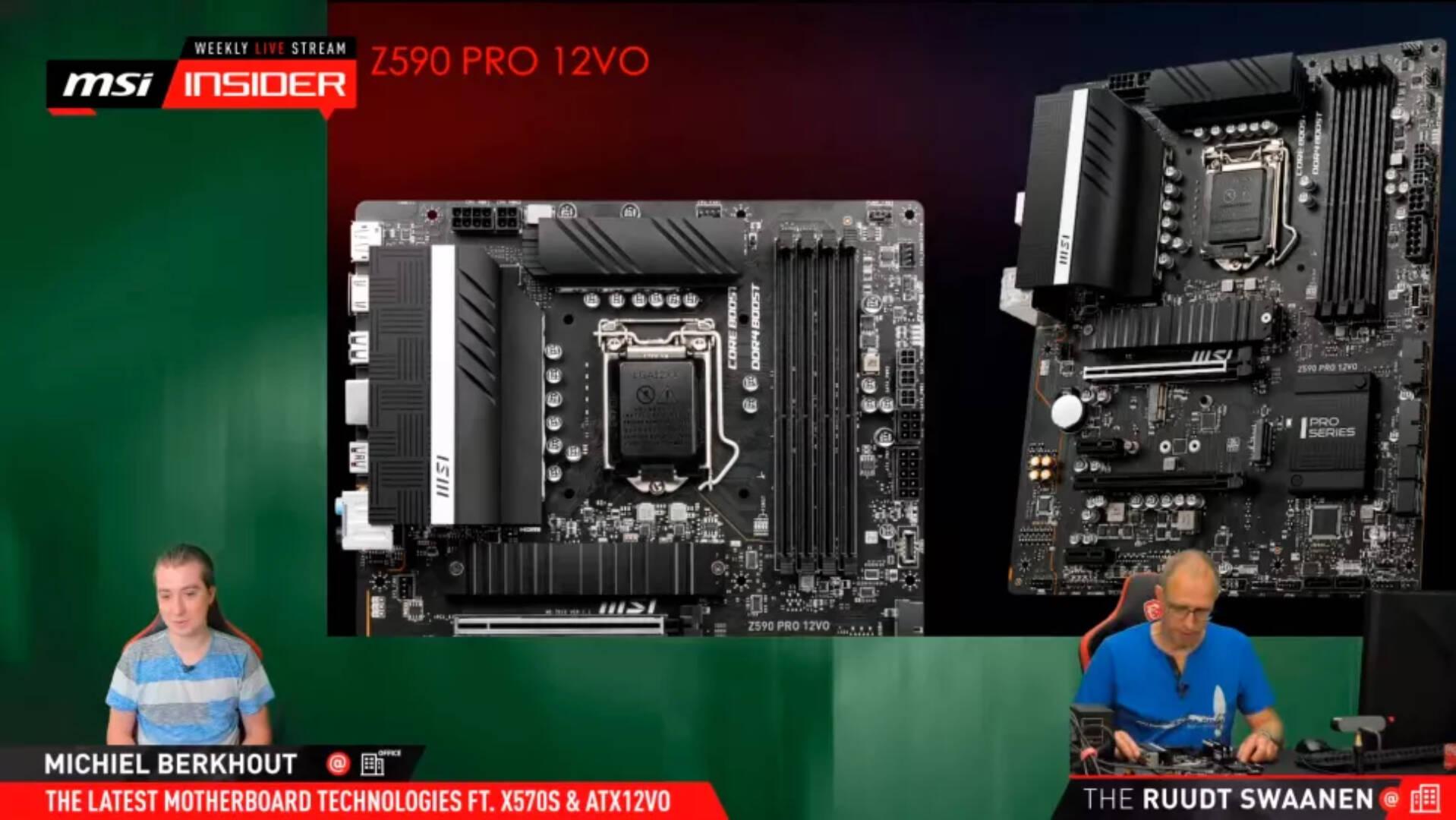 MSI Insider Z590 Pro 12VO