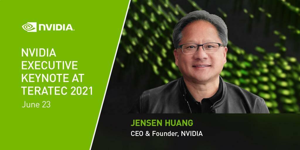 NVIDIA Jensen Huang Teratec 2021