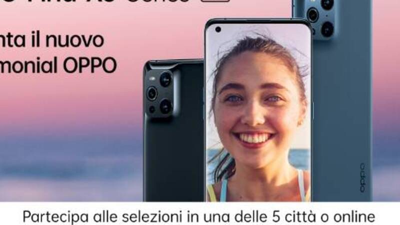 Oppo Summer Tour, the initiative that will touch 5 Italian cities is underway