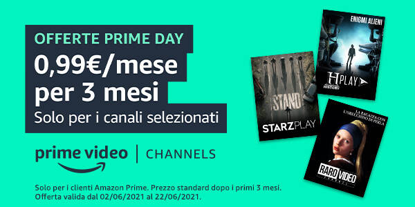 Prime Video Channels Prime Day